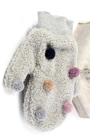US Jewelry House Pom Pom Detail Mitten - Product Mini Image