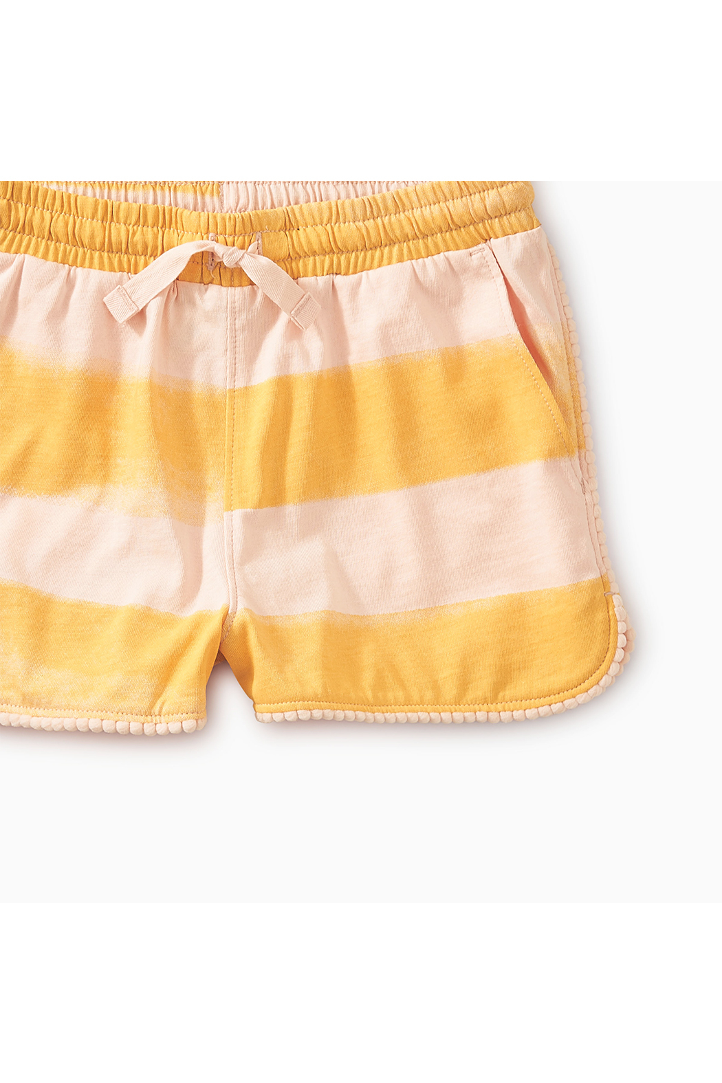 Tea Collection Pom Pom Dolphin Shorts - Front Full Image