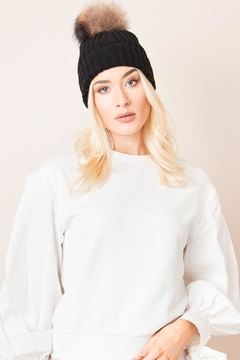 Pia Rossini Pom Pom Hat - Alternate List Image