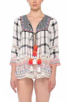 Hemant & Nandita Pom Pom Jacket - Alternate List Image