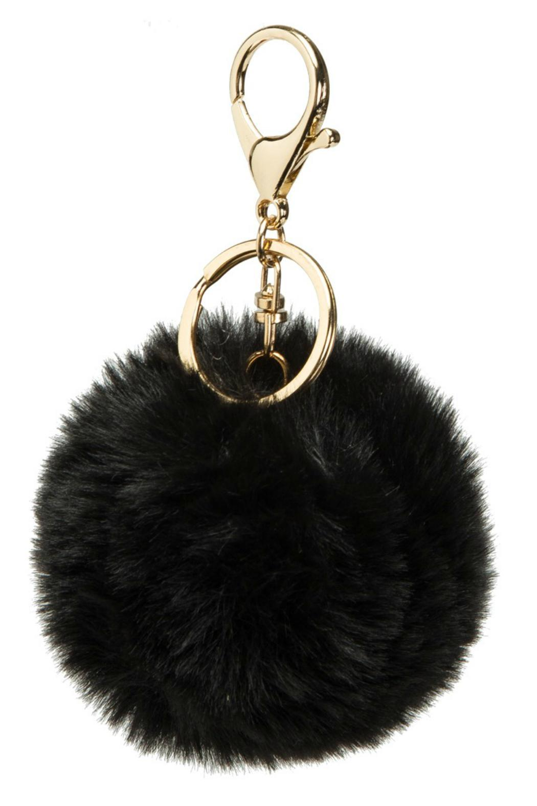 Genuine Fur Keychain - Front Cropped Image
