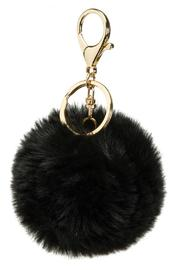 Beth Friedman Genuine Fur Keychain - Front cropped