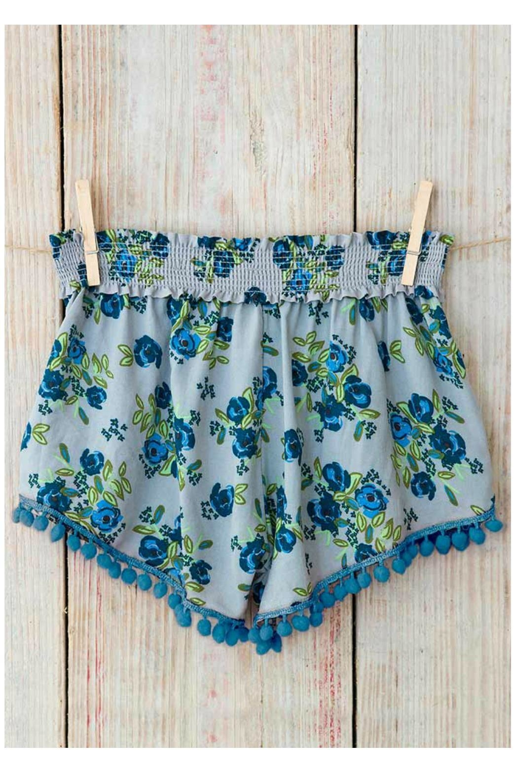 Natural Life Pom-Pom Lounge Shorts - Main Image
