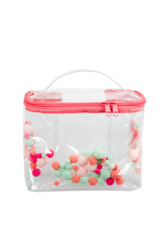 Talking Out Of Turn Pom Pom Soulmate Large Toiletries Bag - Product List Image
