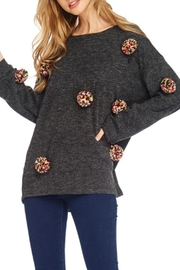 JJ'S Fairyland Pom Pom Sweater - Product Mini Image