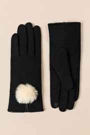 Pia Rossini Pom-Pom Texting Gloves - Front cropped