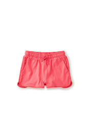 Tea Collection Pom Pom Trim Shorts - Front cropped