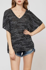 Fantastic Fawn Pom-Pom Trim Top - Product Mini Image
