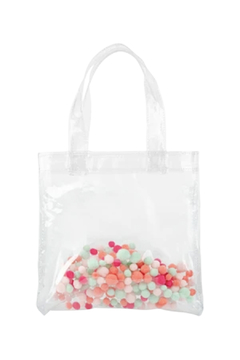 Talking Out Of Turn Pom Poms Itty Bitty Tote - Product List Image
