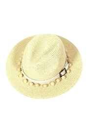 Wild Lilies Jewelry  Pom Straw Hat - Product Mini Image