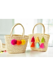 Mud Pie Pom/tassel Totes - Product Mini Image