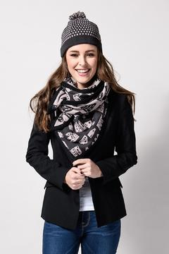 Shoptiques Product: Knitted Amsterdam Houses Scarf