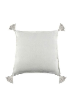 Shoptiques Product: White Tassel Pillow