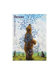 Pomegranate Bears By Bissell Notecard - Front cropped