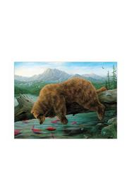 Pomegranate Bears By Bissell Notecard - Front full body