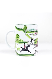 Pomegranate Ceramic Equestrian Mug - Front cropped