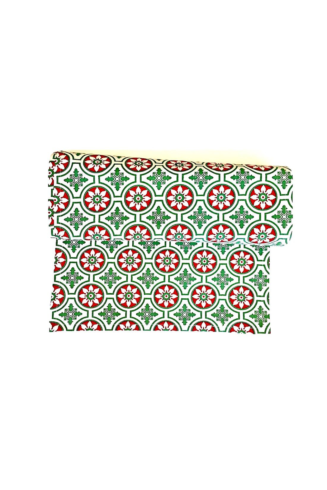 Pomegranate Christmas Table Runner - Front Cropped Image