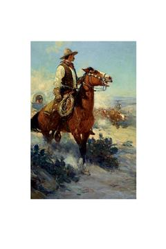 Shoptiques Product: Cowboys Boxed Notecards