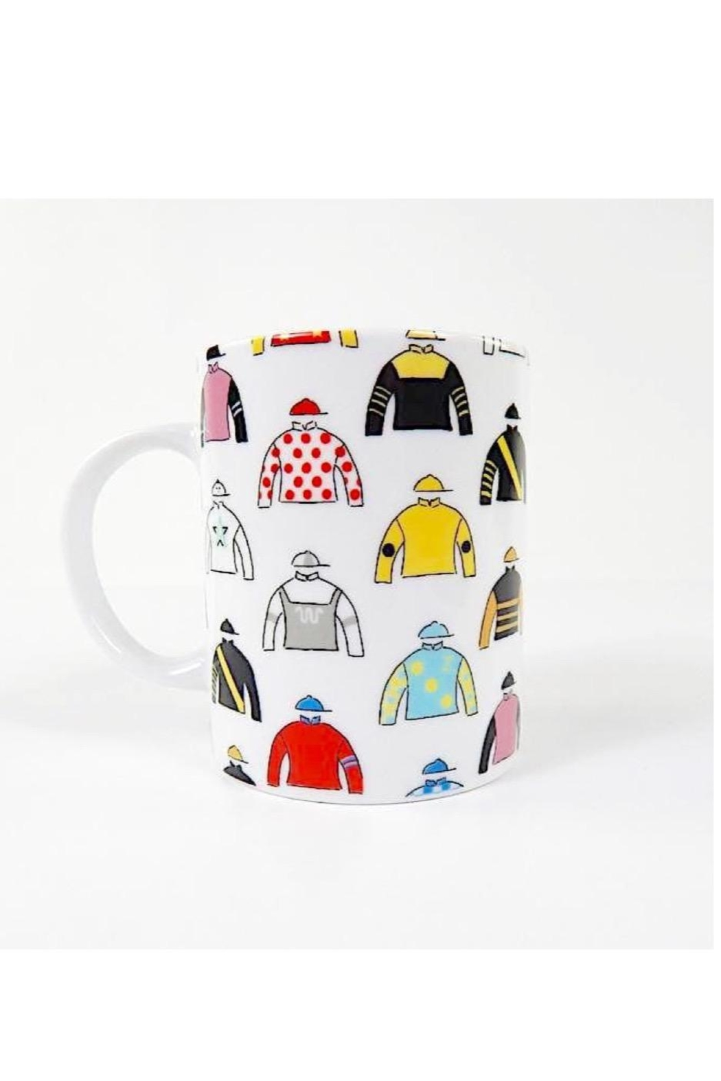 Pomegranate Jockey Silks Mug - Main Image
