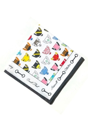 Pomegranate Jockey Silks Napkin - Product Mini Image