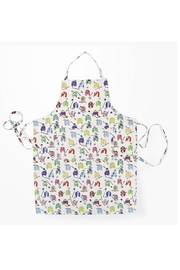 Pomegranate Riding Silks Apron - Front cropped