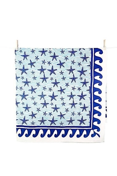 Pomegranate Seaside Starfish Tablecloth - Product List Image