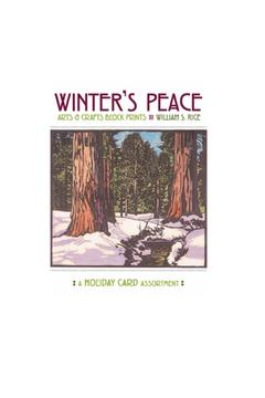 Pomegranate Winter's Peace Notecard - Product List Image