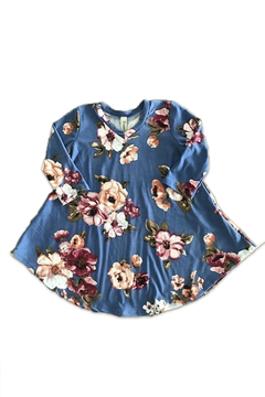 Pomelo Toddler Floral Dress - Alternate List Image