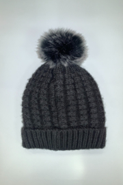 Giftcraft Inc.  Pompom Knit Hat - Front cropped