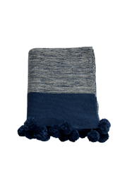 Darzzi POMPOM THROW - Front cropped