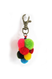 Lumily Pompom Zipper Pull - Front cropped