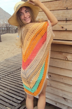 De Mil Amores Buenos Aires Poncho Bohemian - Product List Image