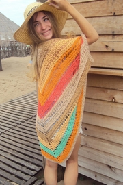 De Mil Amores Buenos Aires Poncho Bohemian - Front cropped