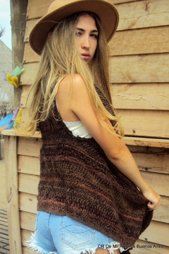 De Mil Amores Buenos Aires Poncho Brown Sugar - Product List Image