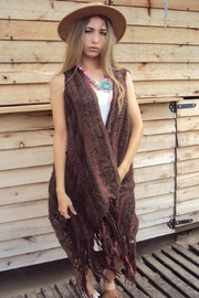 De Mil Amores Buenos Aires Poncho Brown Sugar - Product Mini Image