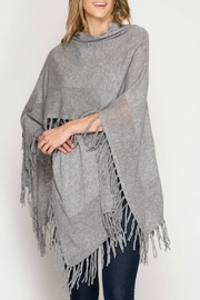 She + Sky Poncho Shawl - Product Mini Image