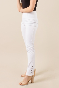 Simply Noelle Ponte Button Pant - Alternate List Image