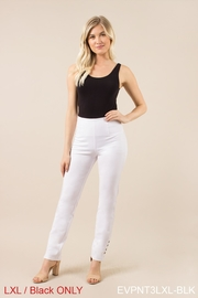 Simply Noelle Ponte Button Pant - Product Mini Image