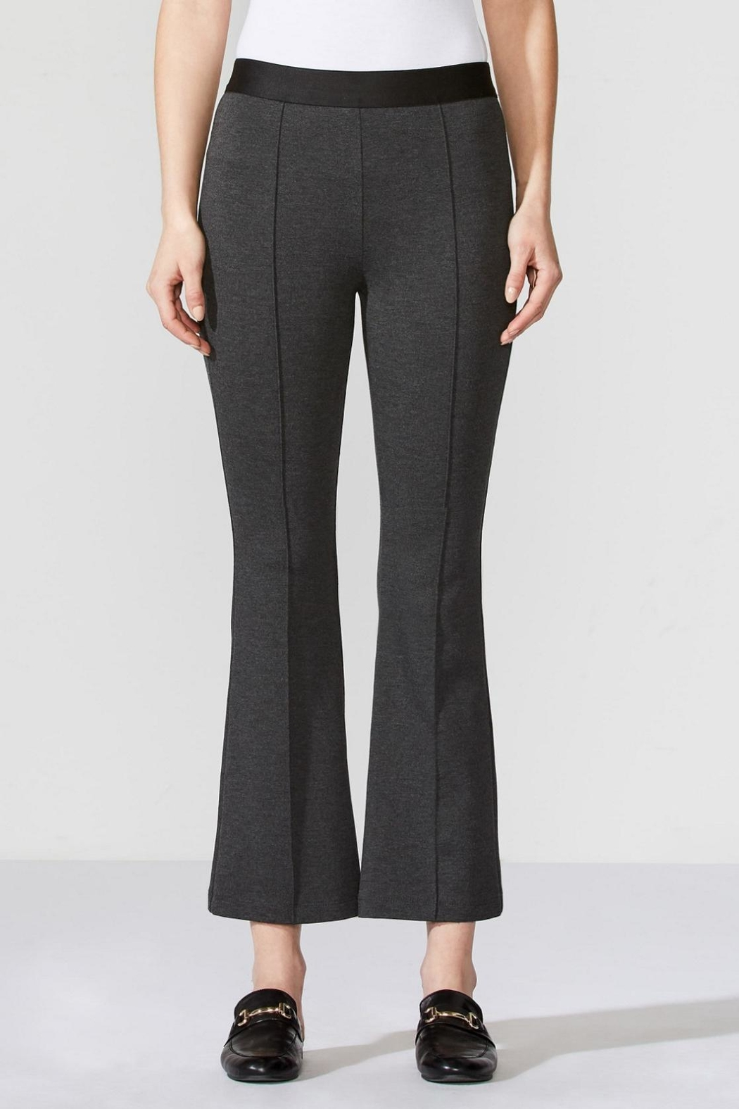 Bailey 44 Ponte Flair Pant - Front Cropped Image