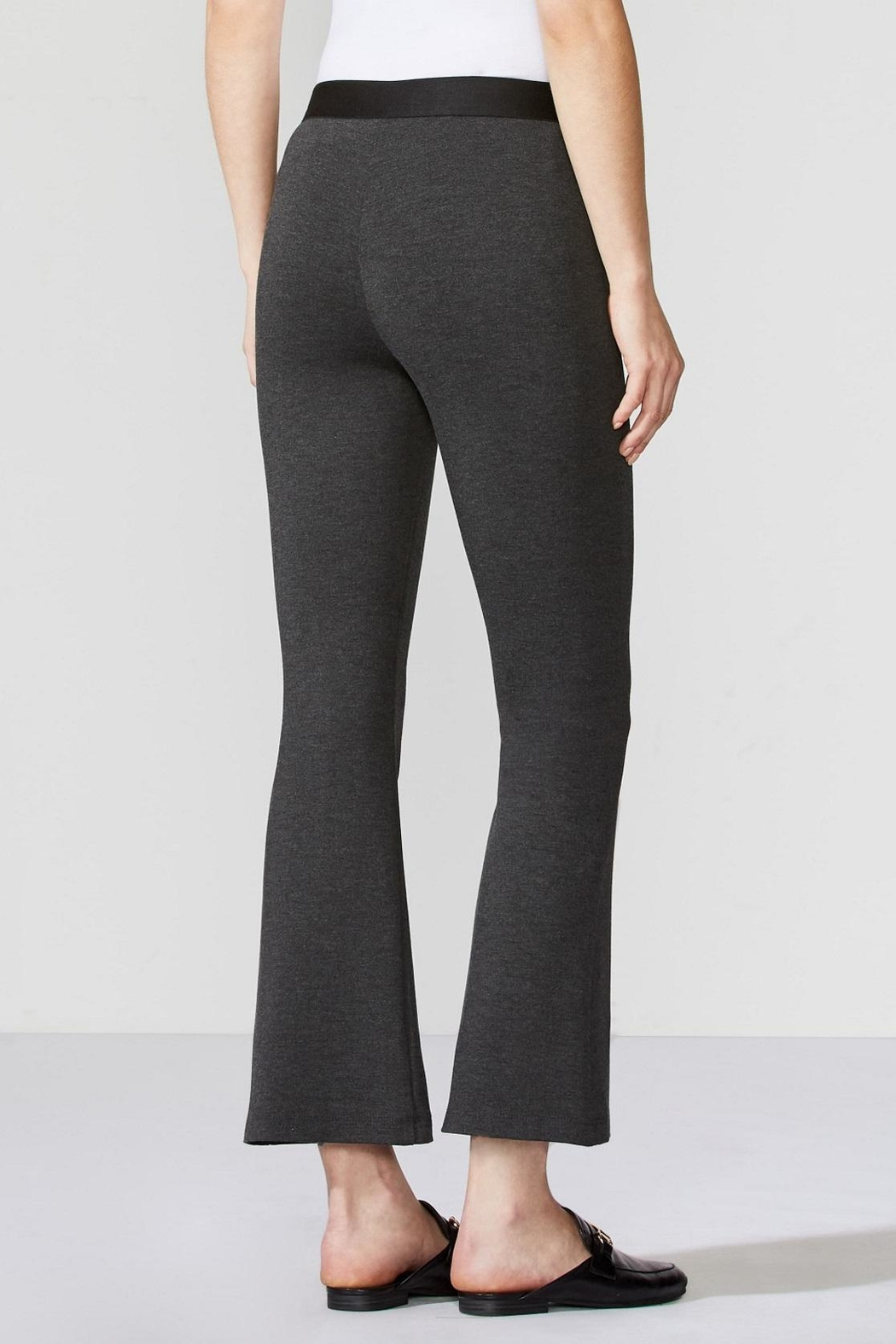 Bailey 44 Ponte Flair Pant - Side Cropped Image