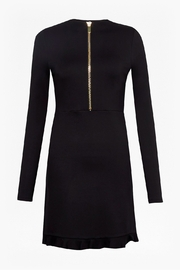 French Connection PONTE JERSEY LONG SLEEVE BLACK DRESS - Other