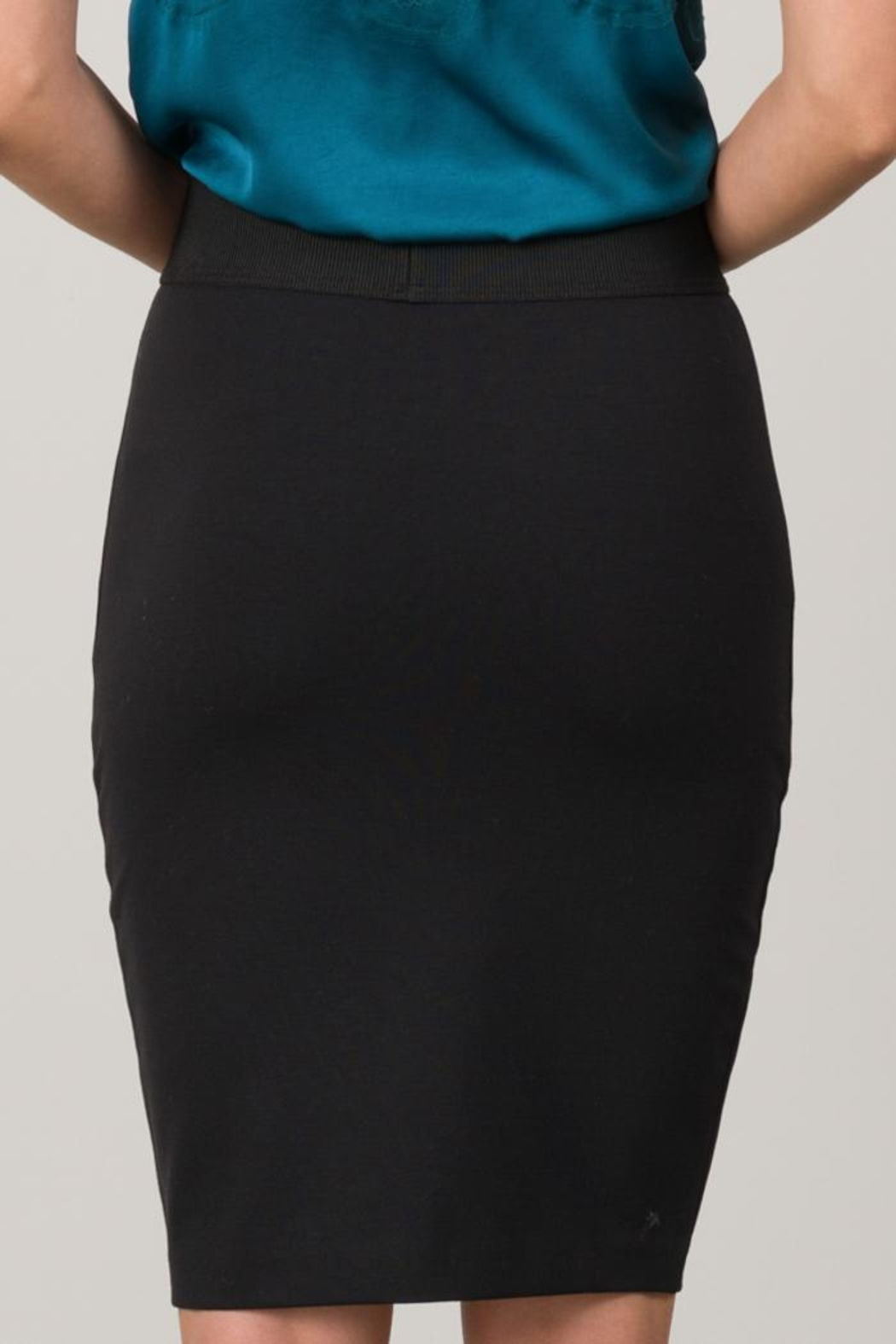 Margaret O'Leary Ponte Skirt - Side Cropped Image