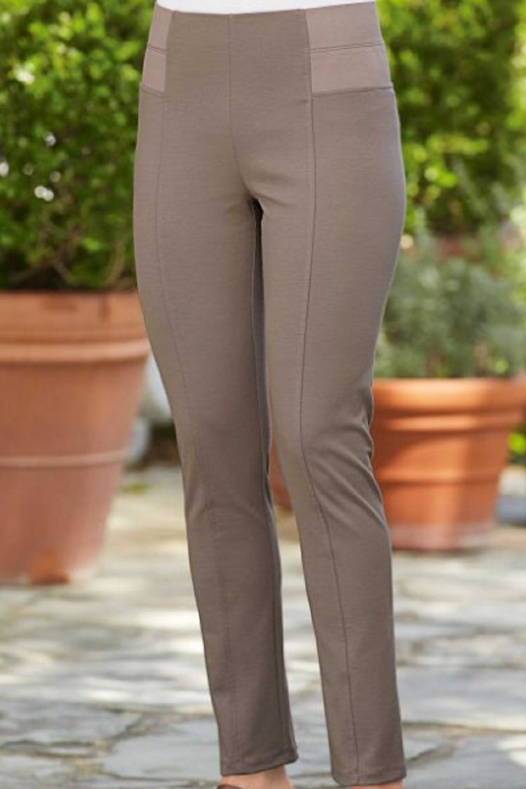 Simply Noelle Ponte Straight Pant - Main Image