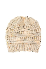 Lets Accessorize Ponytail Knitted Beanie - Product Mini Image