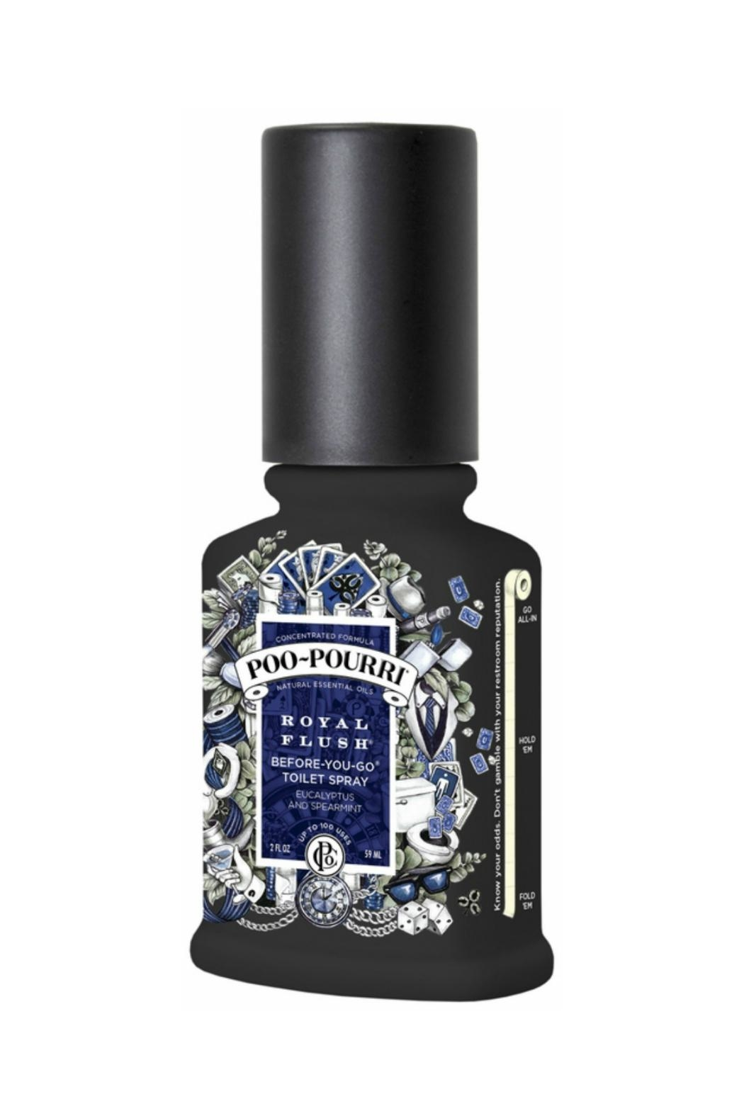 Poo-Pourri Toilet Spray Air Freshner - Front Cropped Image
