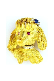CDO  Poodle Brooch Gold - Product Mini Image