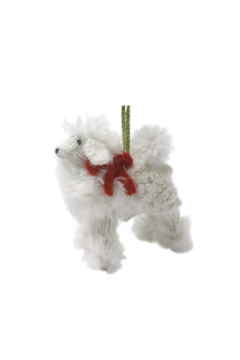 Arcadia Home Poodle - Hand Knit Alpaca Ornament - Product List Image