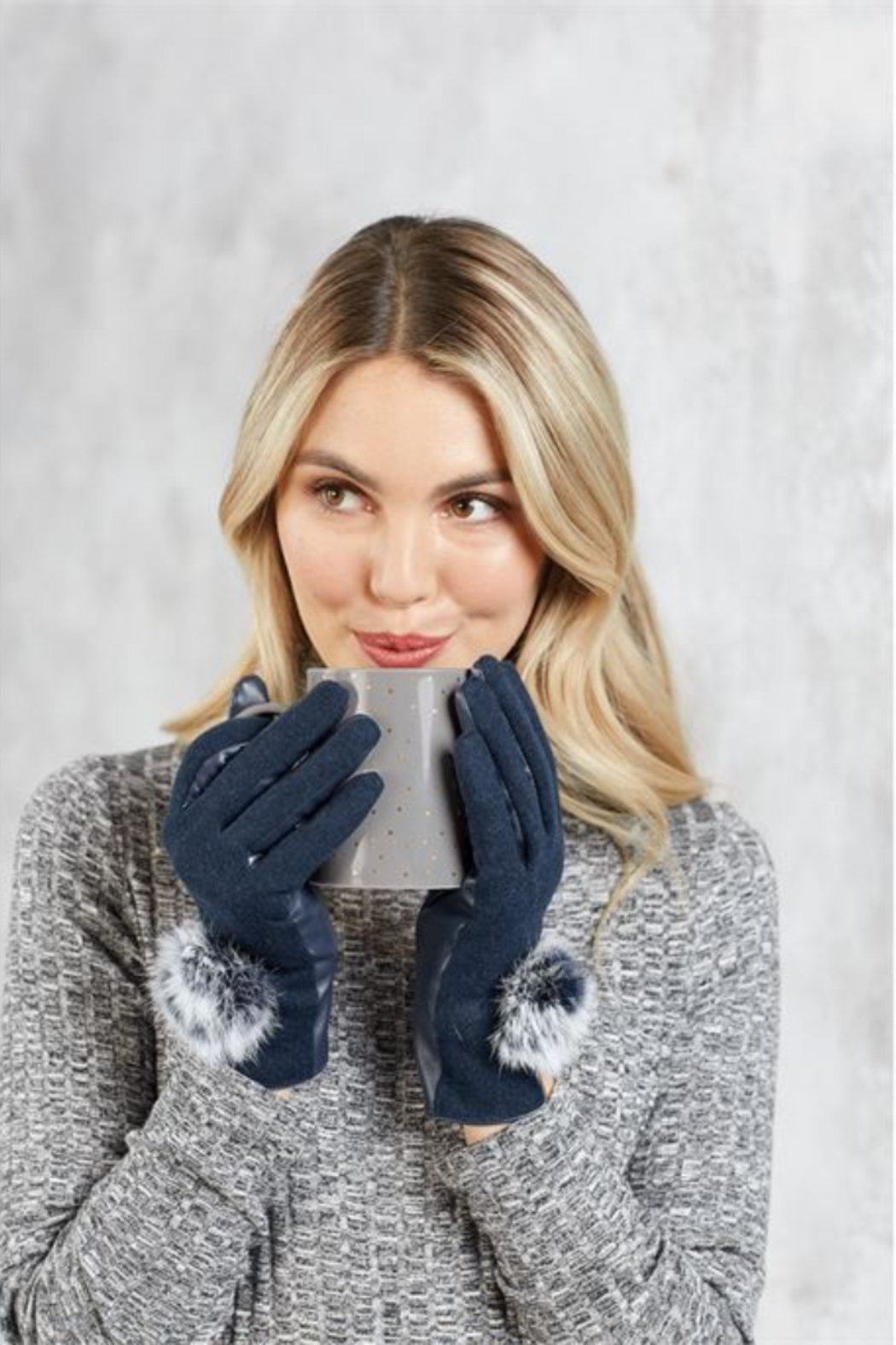 MudPie Poof Gloves - Front Cropped Image