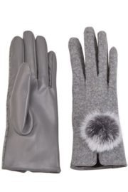 MudPie Poof Gloves - Front cropped