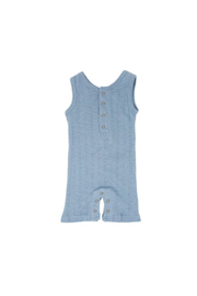 L'oved baby Pool Pointelle Sleeveless Romper - Product Mini Image